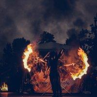 игра с огнем :: Дмитрий Чернов