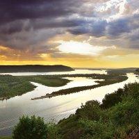 Закат на Волге 2 :: Sergey Kuznetsov
