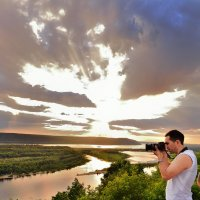 Птица счастья :: Sergey Kuznetsov