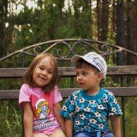 Брат и сестра :: Мария Павлова