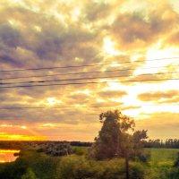 Вечер над рекой :: Олеся Парамонова