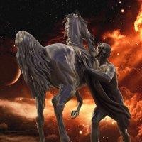 конь и космос :: Валерий Ходунов