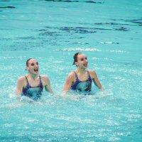 Синхронное плавание.Россия :: Екатерина Краева