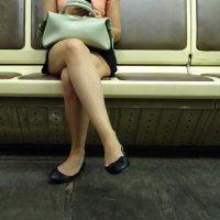 Московские зарисовки в метро. :: Юрий Журавлев