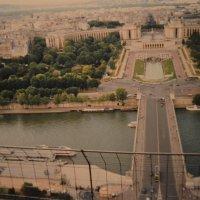 Вид с Эйфелевой башни :: Арина