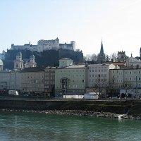 Старый город и замок Хоэнзальцбург :: Елена Павлова (Смолова)