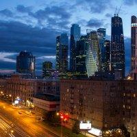 Ночная Москва :: Andrey.Lazarev .