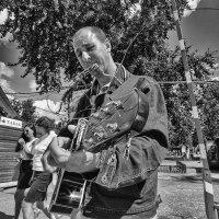 местный Стиви Рэй Вон или крутой герой гитары :: Saloed Sidorov-Kassil