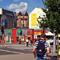 В центре города :: Natali