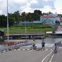 Наплавной мост в Коломне :: Наталья Левина