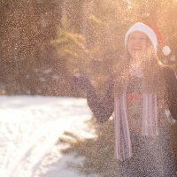 Солнечный снег :: L.Kot Суздалев
