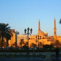 Мечеть в Шардже. :: Чария Зоя
