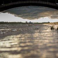 Рыбинск с уровня воды :: Алексей Дмитриев