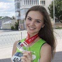 Мисс спортивная улыбка :: Александр Иванчиков-Немировский