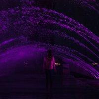 Купающаяся в фонтане :: Михаил Вандич