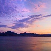 Вулкан на закате :: Геннадий Валеев