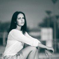 Черно-белый закат... :: Vitaly Tunnikov