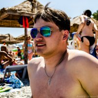 На пляже :: Роман Безруков