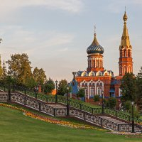 Храм Казанской иконы Божией Матери :: Леонид Никитин