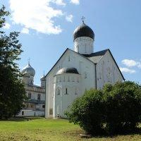 Церковь Спаса Преображения на Ильине XIV в (Великий Новгород) :: Valentina Altunina