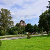 Московский пейзаж. :: Oleg4618 Шутченко