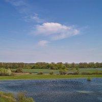 Облако и полая вода. :: Андрий Майковский