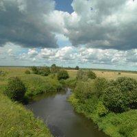 малые реки и огромные поля... :: Михаил Жуковский
