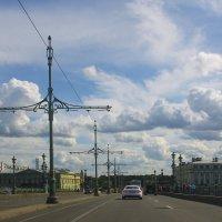 С ветерком по Троицкому мосту... :: Tatiana Markova