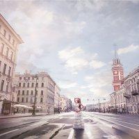 Фотосессия на улице :: Евгений Ланин