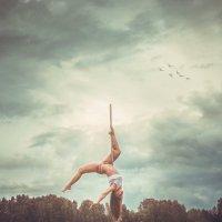 Танец на пилоне :: Евгений Тихонов
