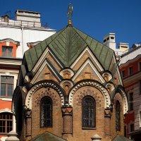 Часовня-ризница Иверской иконы Божией Матери (Санкт-Петербург) :: Павел Зюзин