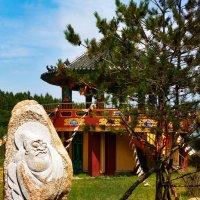 г. Тумэнь (Китай), скульптуры в камне, монастырь. :: Нина Борисова