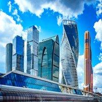 Москва-Сити :: Евгений Петерс