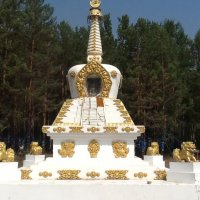 Возле священной горы Бархан :: Сергей Банаев
