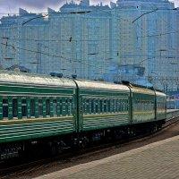 в ожидании локомотива :: Александр Корчемный