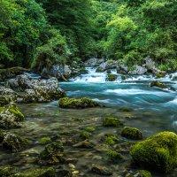Горная река 2 :: Александр Хорошилов