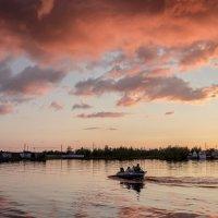 Пейзаж с лодкой :: Николай