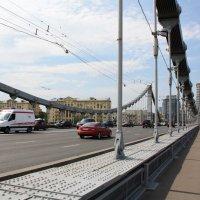 Крымский мост, Москва :: Владимир Холодницкий