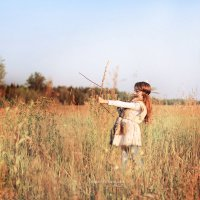 Однажды в Ташировских степях :: Анна Фрошгайзер