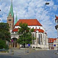 Augsburger Dom. Собор был освящён в 1065 году :: Galina Dzubina
