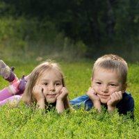 Прогулка с племянниками :: Антон Голованов