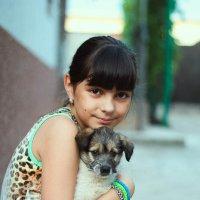 Девочка с собачкой :: Ann Nikol
