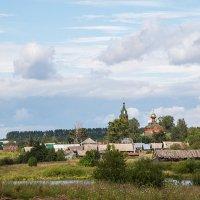 Вид на село :: Леонид Никитин