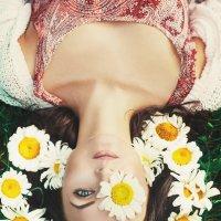 Девушка в ромашках :: Ксения Коша
