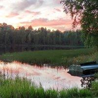 Озеро Среднее. Вечернее. :: Владимир Гилясев
