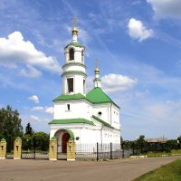 Троицкий храм села Льгов. :: Борис Митрохин
