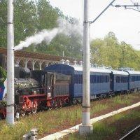 прибытие Царского поезда :: ЕЛЕНА КОЛЕСНИК
