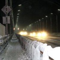 Зимний мост.Мурманск. :: Андрей Кулешов