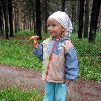 Встреча в лесу с Ульяной . :: Мила Бовкун
