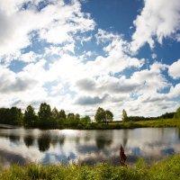 Лесное озеро :: Виктор Фролов